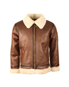 Alpha Industries Mens Brown B3 Flight Jacket