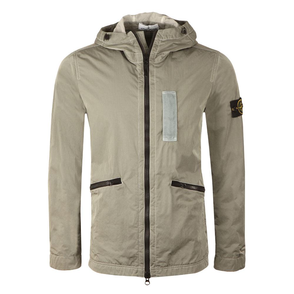 176a1c7c7 Mens Grey Nylon Metal Flock Jacket