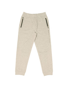 Boss Mens Grey Side Logo Cuffed Jogger