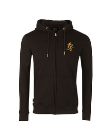 Gym king Mens Black Core Tracksuit Top