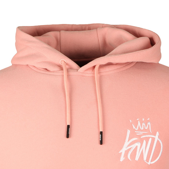 Kings Will Dream Mens Pink Slater Overhead Hoody main image