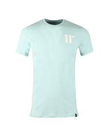 Eleven Degrees Mens Blue Core T Shirt