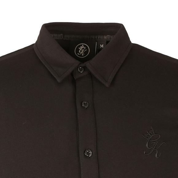 Gym King Mens Black Short Sleeve Jersey Shirt main image