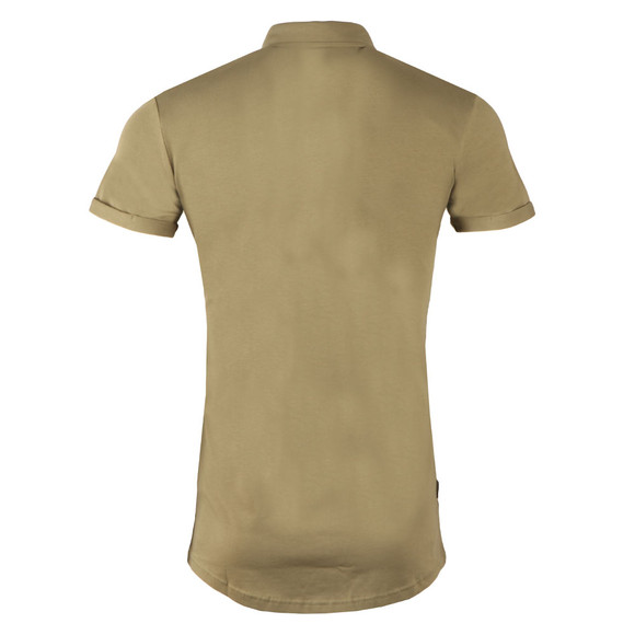 Gym King Mens Green Short Sleeve Jersey Shirt main image
