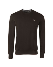 Lacoste Mens Black AH7371 Crew Neck Jumper
