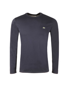Lacoste Mens Blue TH6712 LS Tee