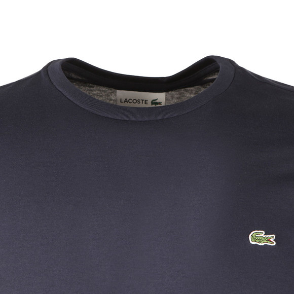 Lacoste Mens Blue TH6712 LS Tee main image