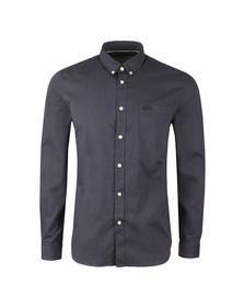 Lacoste Mens Blue CH9597 Dot LS Shirt