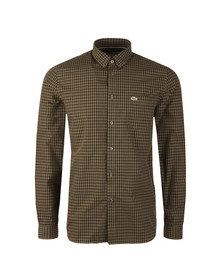 Lacoste Mens Green L/S CH9559 Check Shirt