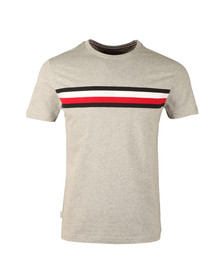 Tommy Hilfiger Mens Grey S/S Lester Tee