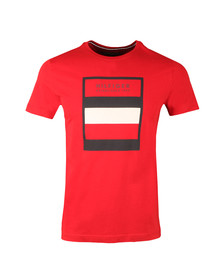 Tommy Hilfiger Mens Red S/S Norman Tee