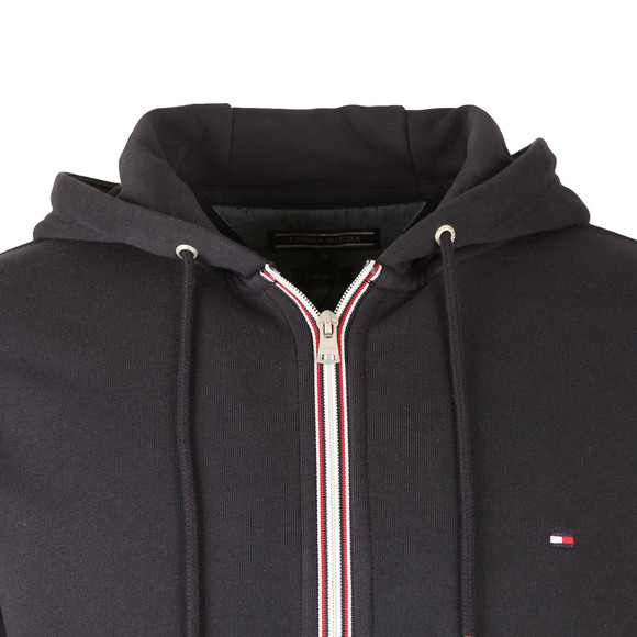 Tommy Hilfiger Mens Blue Core Cotton Zip Hoody main image
