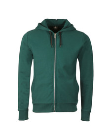 PS Paul Smith Mens Green Full Zip Hoody