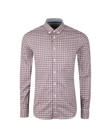 Tommy Hilfiger Mens Blue Lewisburg Check LS Shirt