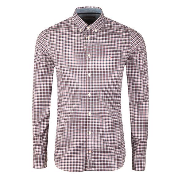 Tommy Hilfiger Mens Blue Lewisburg Check LS Shirt main image
