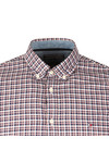 Tommy Hilfiger Mens Blue Lewisburg Check LS Shirt