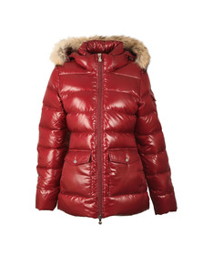 Pyrenex Womens Red Authentic Shiny Jacket