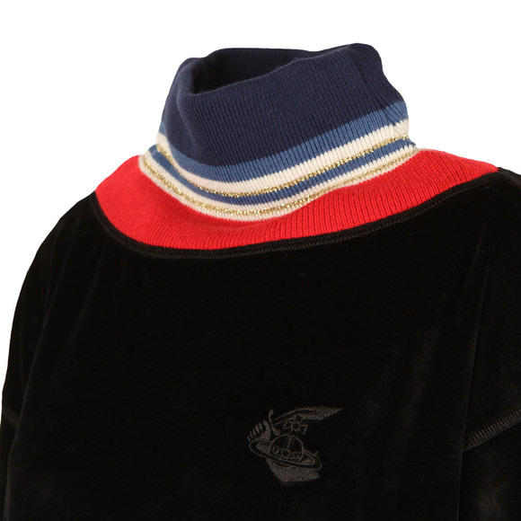 Vivienne Westwood Anglomania Womens Black Hendrick's Sweater main image
