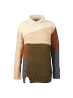 Anna Patchwork Knit
