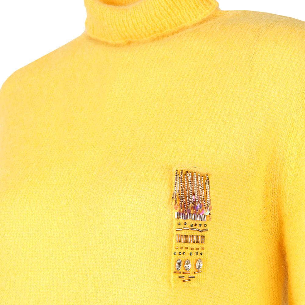 Ava High Neck Knit Jumper main image