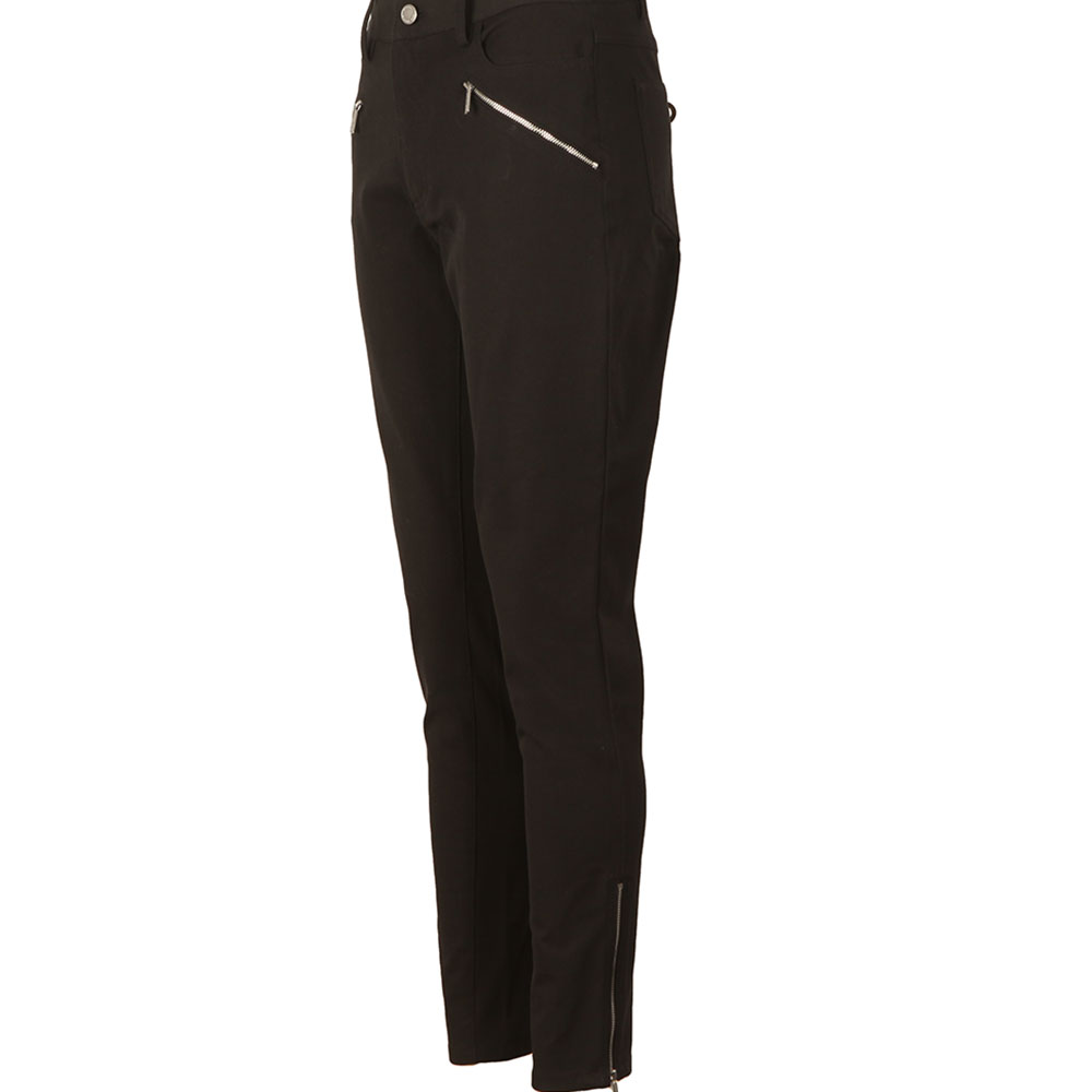Hi Rise Zip Pocket Skinny Trouser main image
