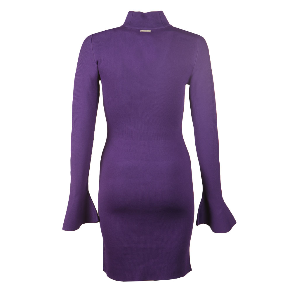 Bell Sleeve Long Sleeve Dress main image