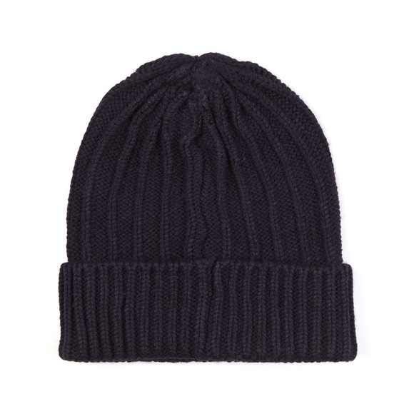 Franklin & Marshall Mens Blue Knitted Hat main image