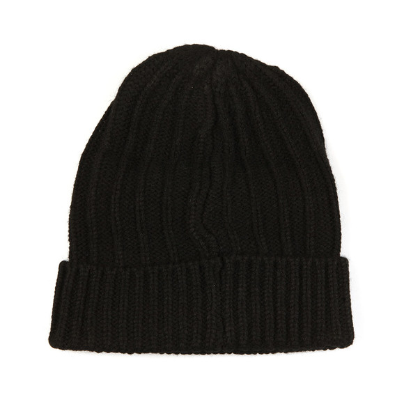 Franklin & Marshall Mens Black Knitted Hat main image