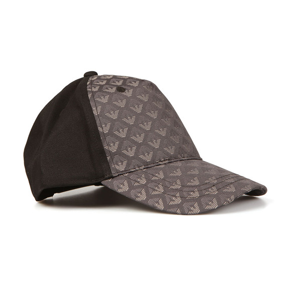 Armani Junior  Boys Black Eagle Panel Cap main image