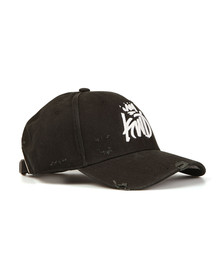 Kings Will Dream Mens Black Distressed Baseball Cap