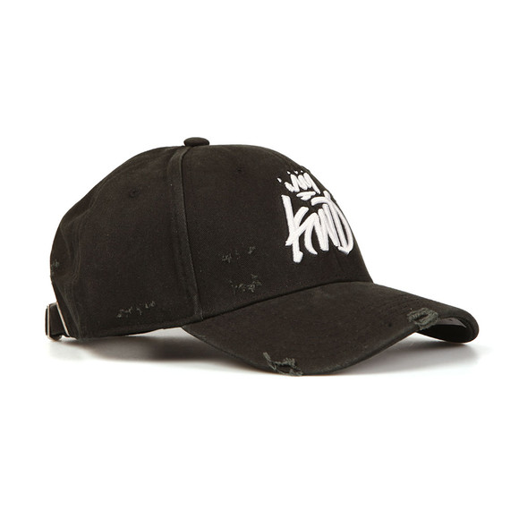 Kings Will Dream Mens Black Distressed Baseball Cap main image