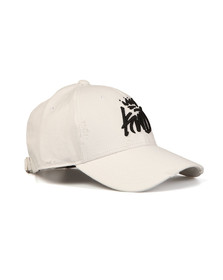 Kings Will Dream Mens White Distressed Baseball Cap