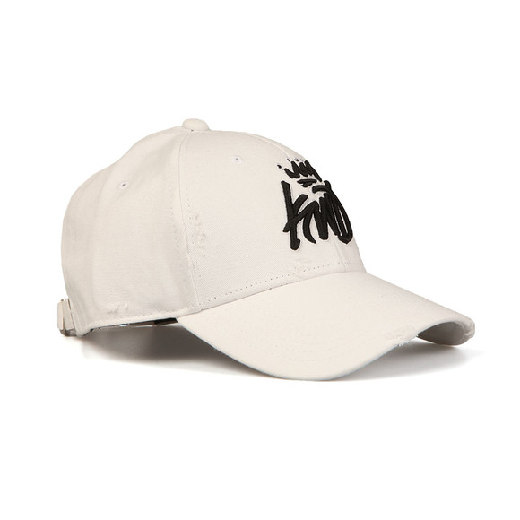 Kings Will Dream Mens White Distressed Baseball Cap main image