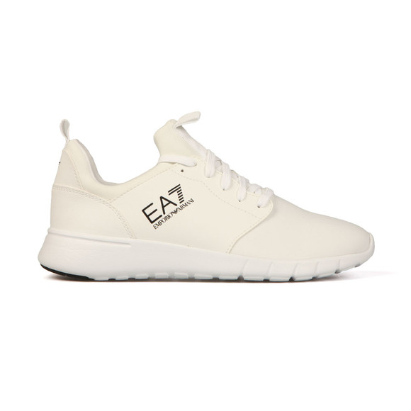 EA7 Emporio Armani Mens White Simple Racer Trainer main image