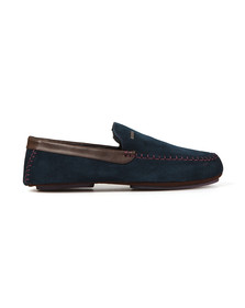 Ted Baker Mens Blue Moriss 2 Suede Slipper