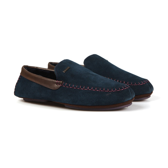 Ted Baker Mens Blue Moriss 2 Suede Slipper main image
