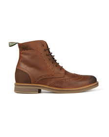 Barbour Lifestyle Mens Brown Belsay Boots