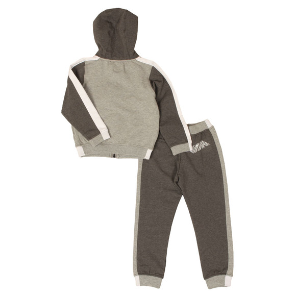 Armani Junior  Boys Grey Eagle Logo Tracksuit main image