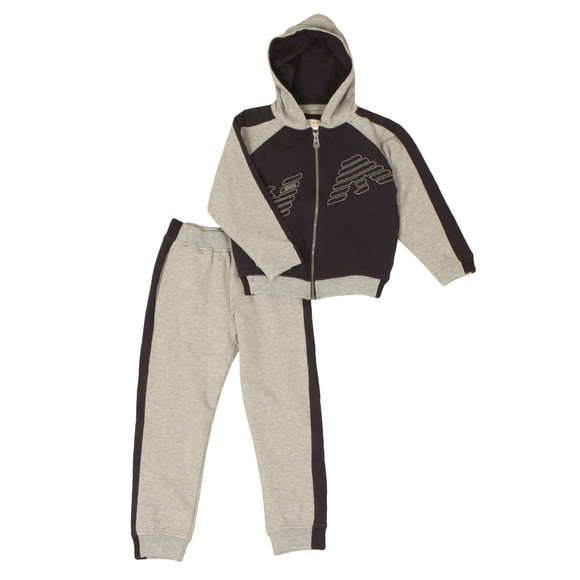 Armani Junior  Boys Blue Eagle Logo Tracksuit main image