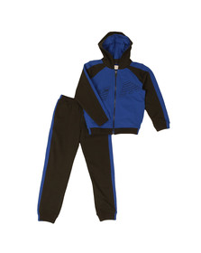 Armani Junior  Boys Blue Eagle Logo Tracksuit