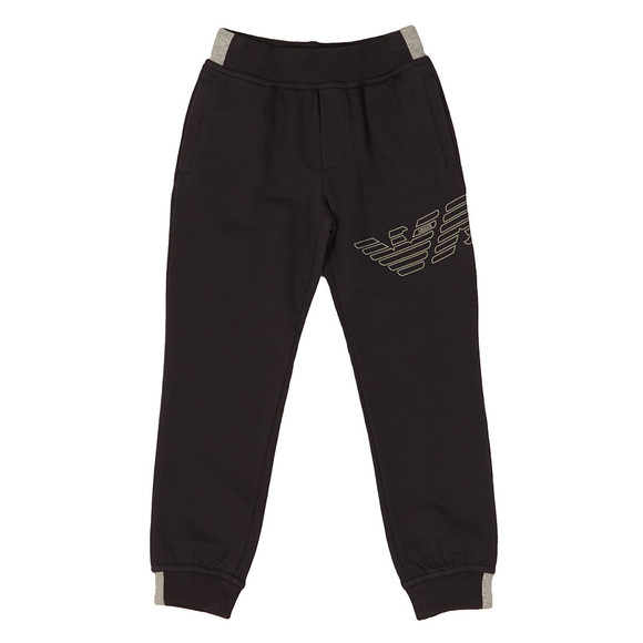Armani Junior  Boys Blue Eagle Logo Jogger main image