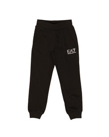 EA7 Emporio Armani Boys Black Boys Small Logo Sweatpant