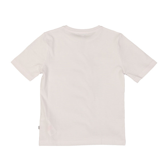 BOSS Bodywear Boys White Graphic T Shirt main image