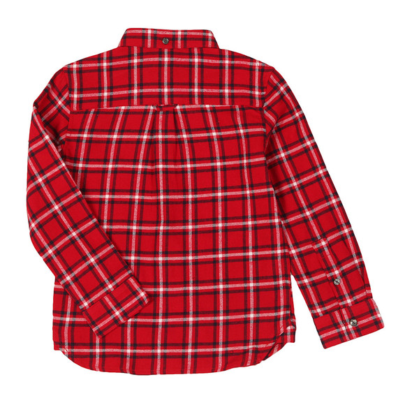 Lyle And Scott Junior Boys Red Flannel Shirt main image