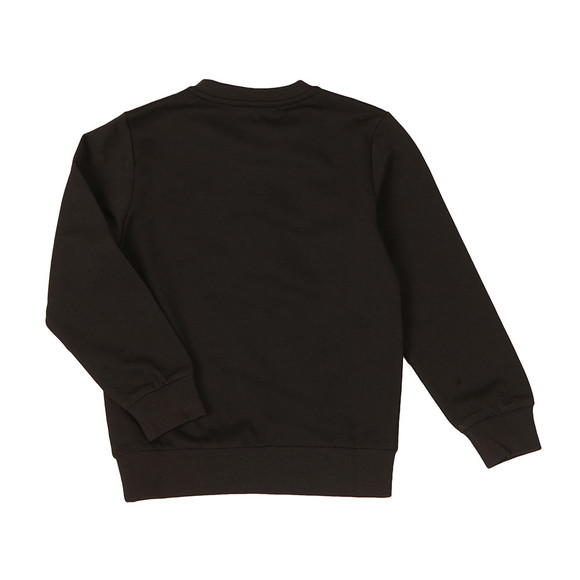 EA7 Emporio Armani Boys Black Crew Neck Sweatshirt main image