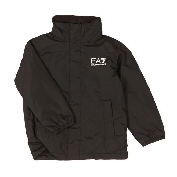 EA7 Emporio Armani Boys Black Bomber Jacket main image
