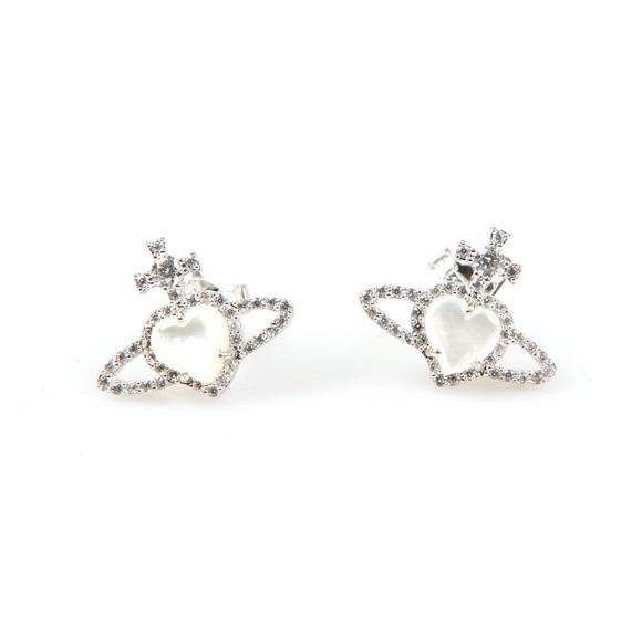Vivienne Westwood Womens Silver Leontyne Earring main image