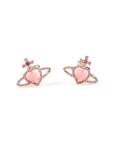Vivienne Westwood Womens Pink Leontyne Earring