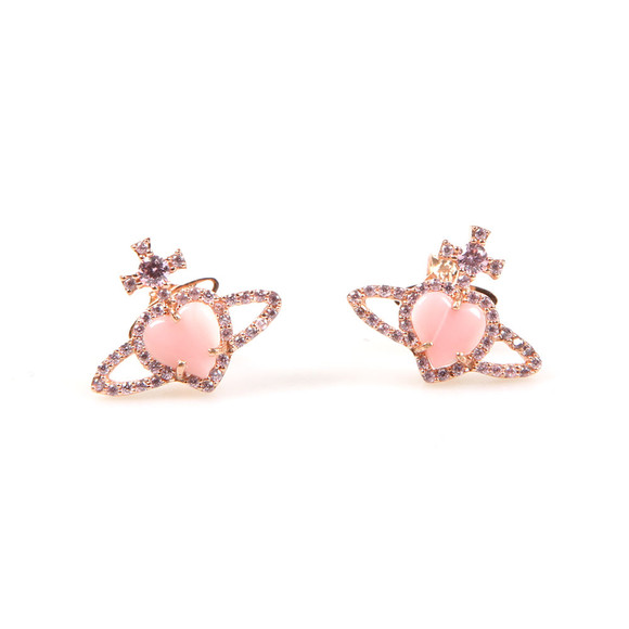 Vivienne Westwood Womens Pink Leontyne Earring main image