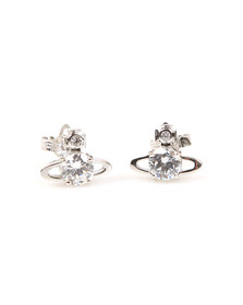 Vivienne Westwood Womens Silver Reina Earring